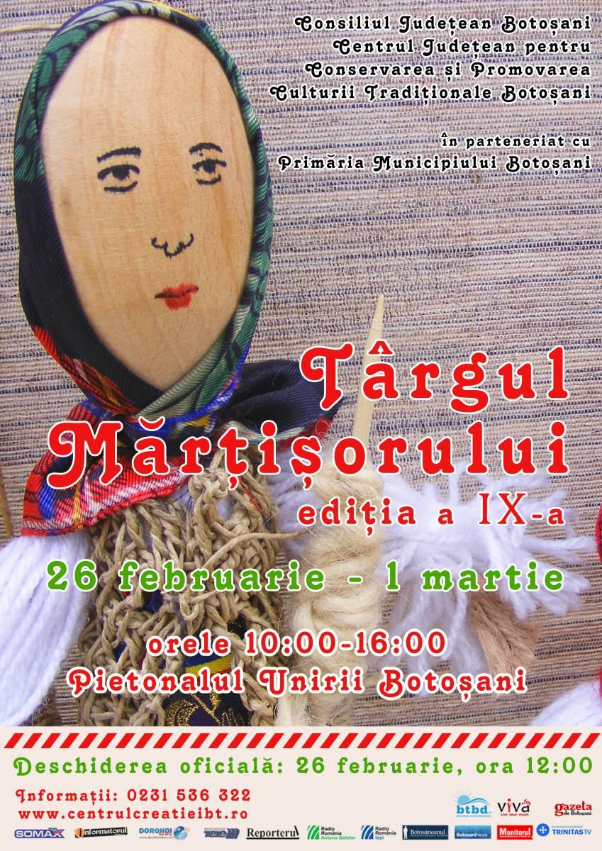 Târgul Mărțișorului, Ediția a IX-a, 26 Februarie -1 Martie 2019