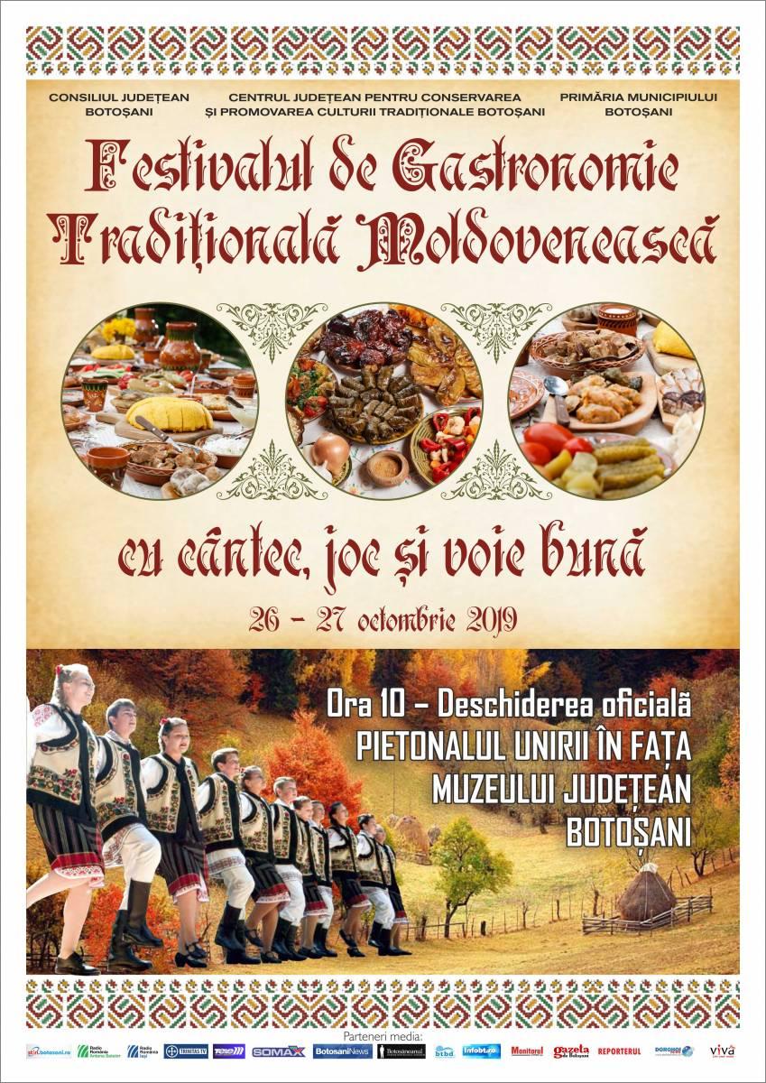 Comunicat de presă-Festivalul Gastronomiei, 26-27 octombrie 2019