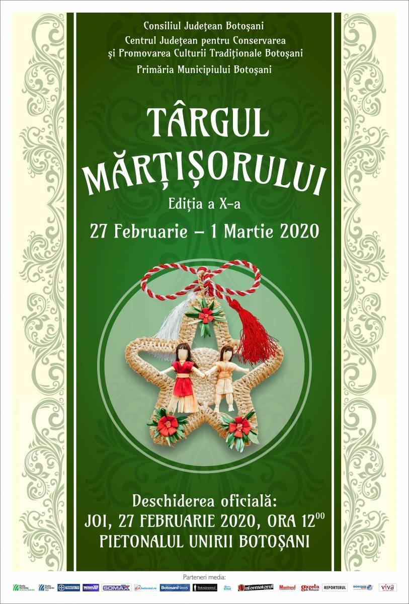 Regulament – Târgul Mărțișorului, Ediția a X-a, 27 februarie -1 martie 2020