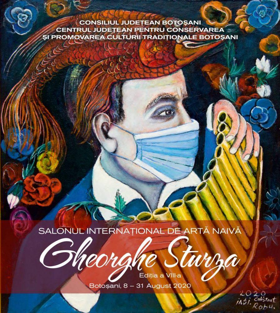 """Album – Salonul Internațional de Artă Naivă """"Gheorghe Sturza"""" ediția a VIII-a, 8-31 august 2020"""